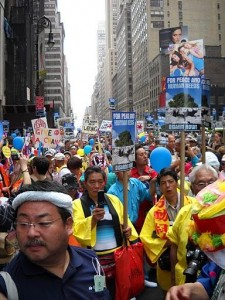 NYC nonproliferation protest. Credit: Unknown
