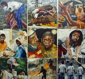 Huong Haiti mural