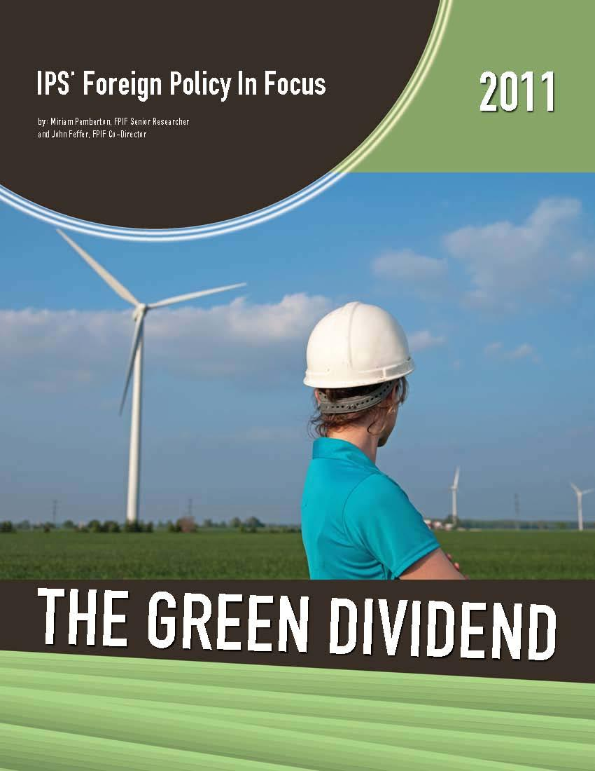 The Green Dividend