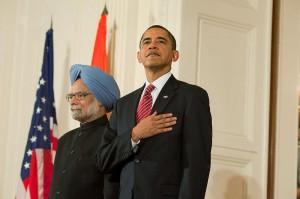 President Barack Obama and Prime Minister Manmohan Singh at the White House, Nov. 24, 2009