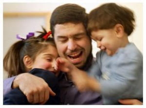 Maher Arar with his children