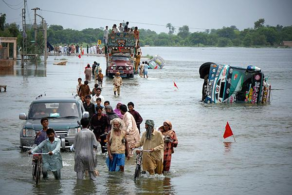 Disaster Times Two in Pakistan