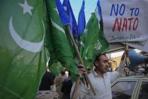 Protest in Pakistan against NATO