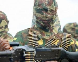Boko Haram militia member