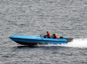 Iranian speed boat
