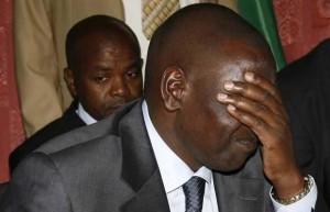 Kenya's former minister of education William Ruto