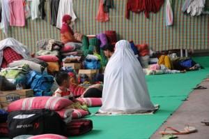 Sampang refugee camp (photo courtesy of authors).