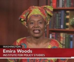 Emira Woods on PBS NewsHour