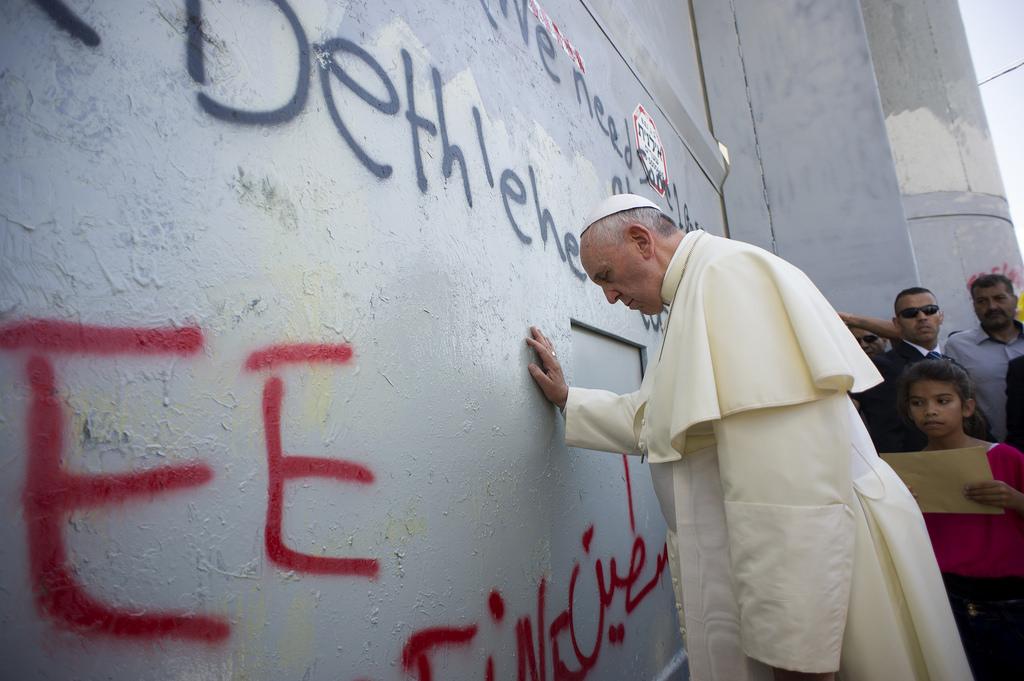 Pope Francis in Palestine