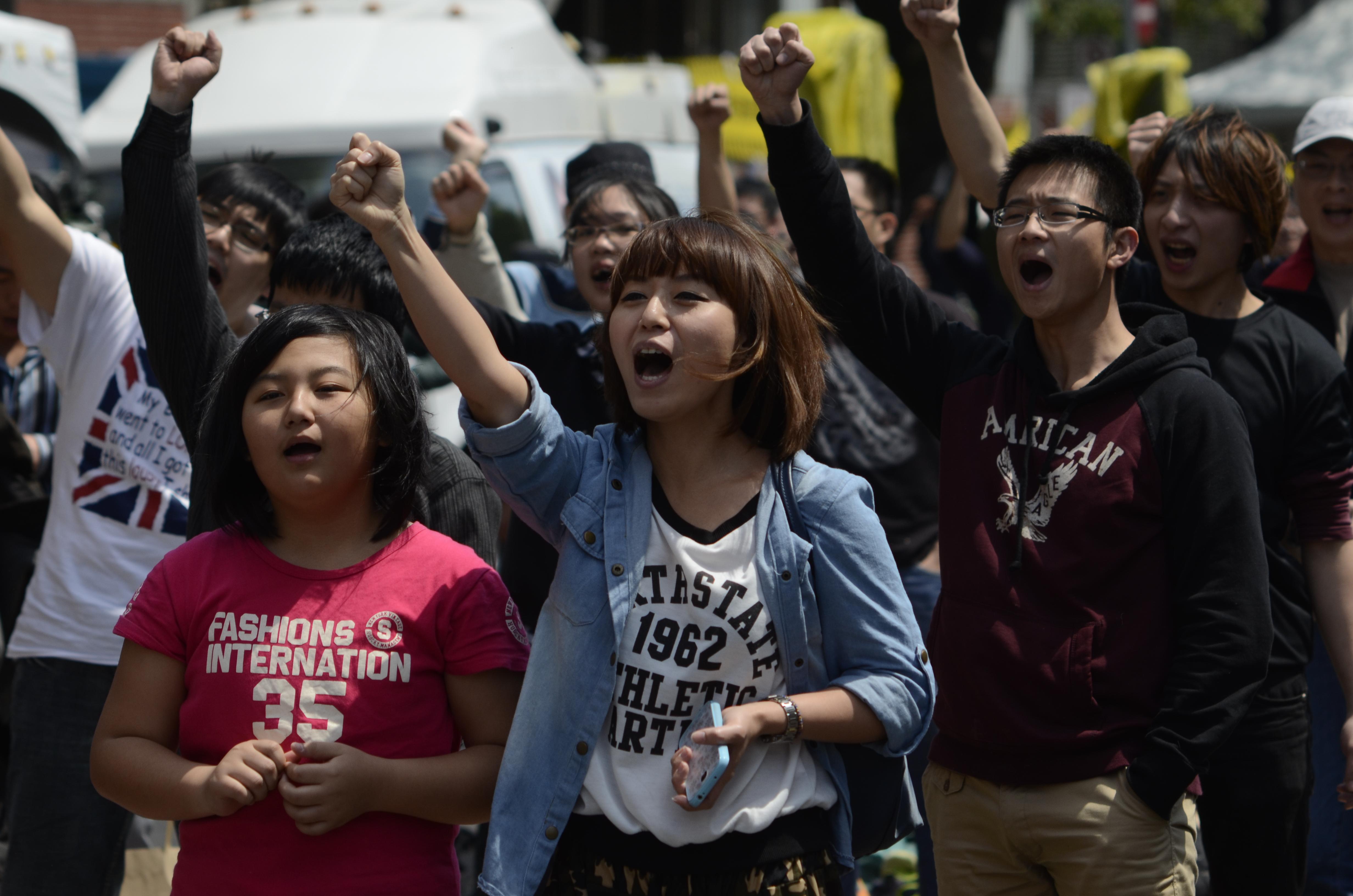 Taiwan's Sunflower Movement