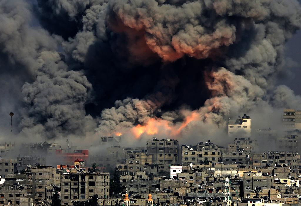 In Gaza, International Law Is Up in Flames