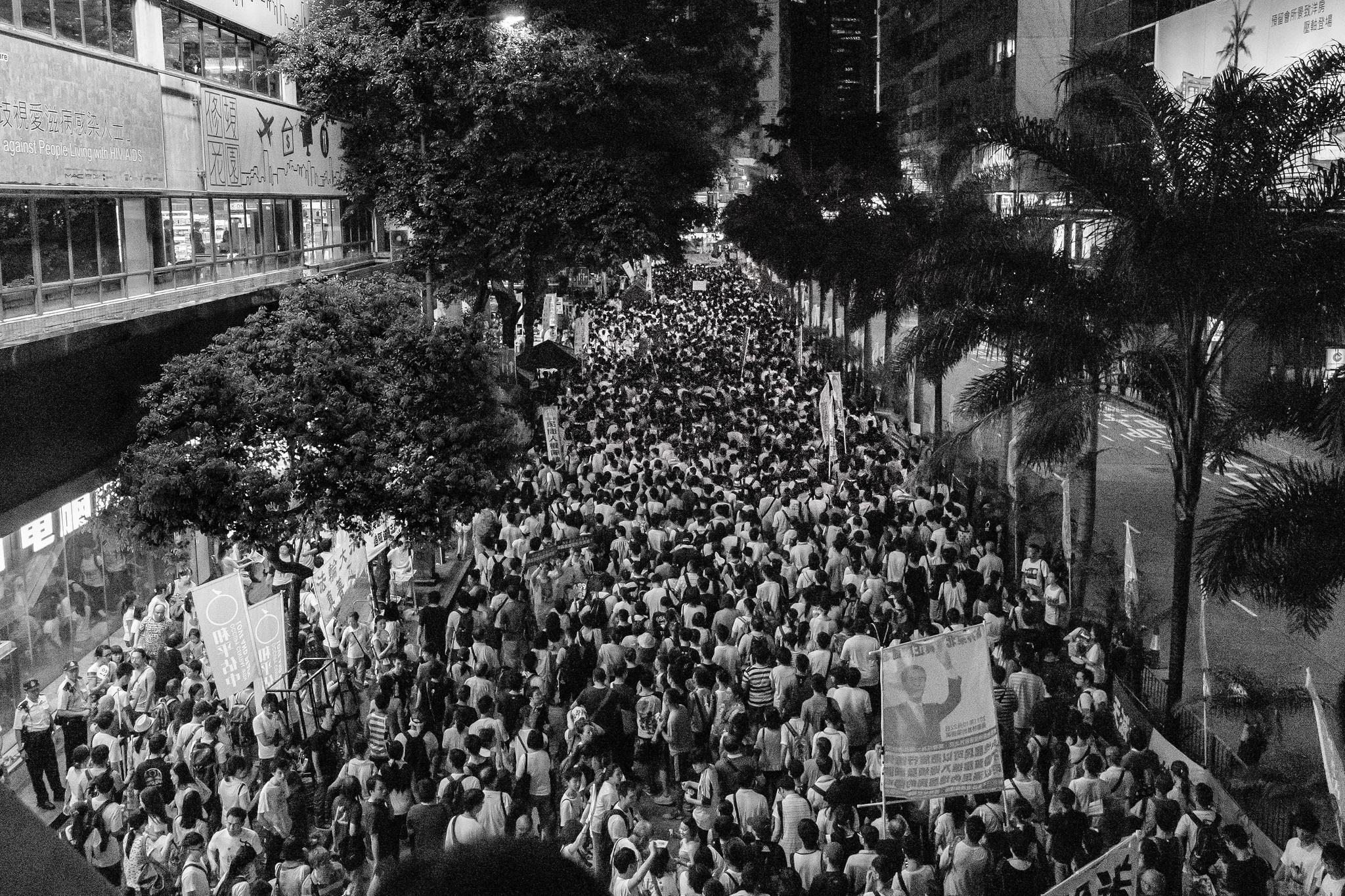 Hong Kong's Simmering Revolt Against Fake Democracy