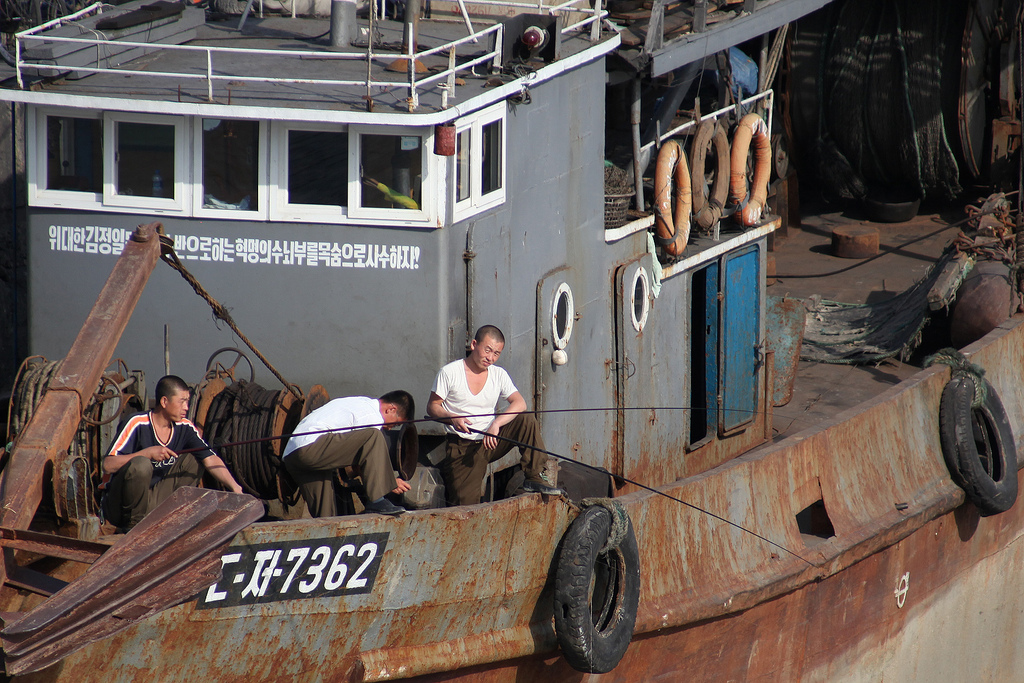 Fishing for Peace in Korea
