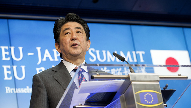 Abe's WWII Statement and Self-Defense Bill Boost Japan-China Relations