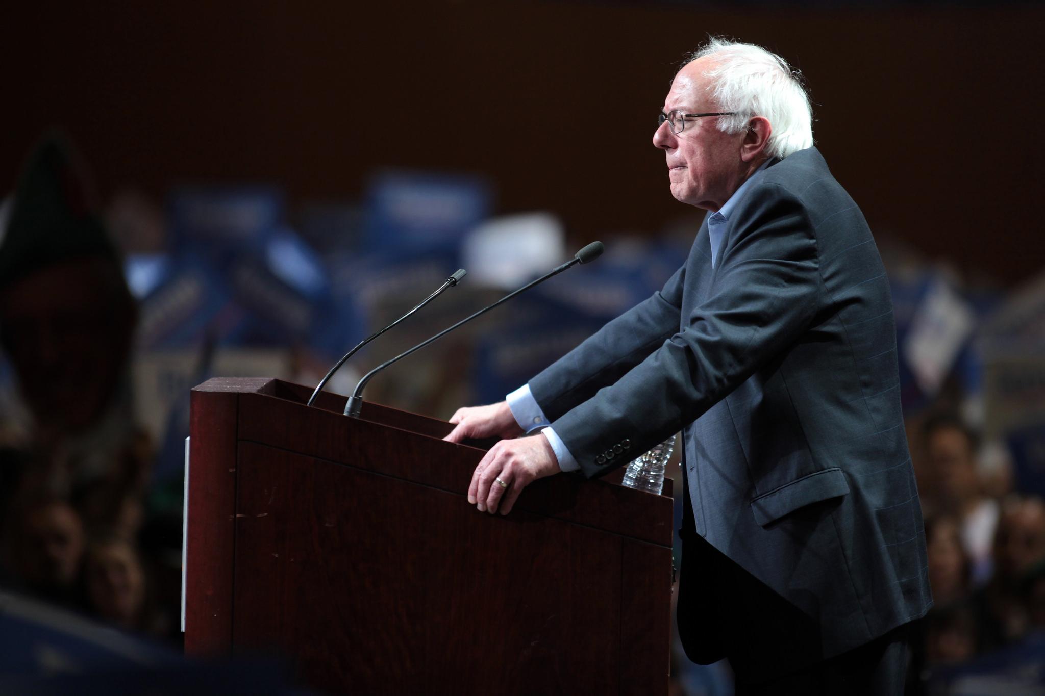 Bernie Sanders Isn't Just Anti-Capitalist. Now He's a Voice Against Militarism, Too.