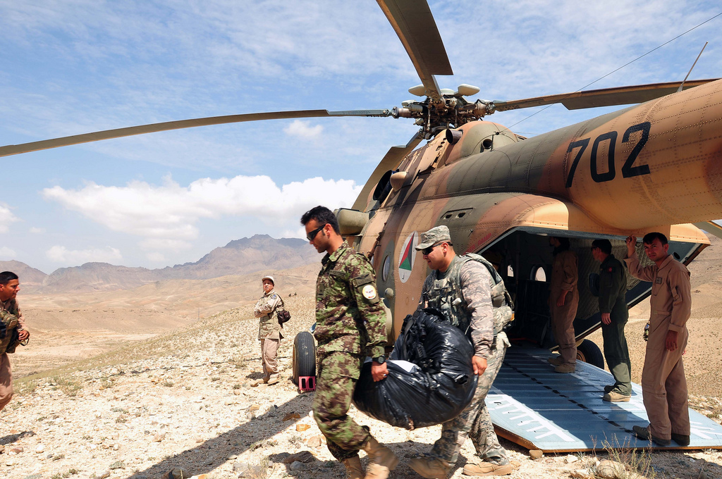 VIDEO: The U.S. War in Afghanistan Is Now 16 Years Old. Trump Has No Plans to End It.
