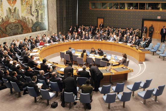 With Strong Security Council U.S. No Longer Interventionist of First Resort