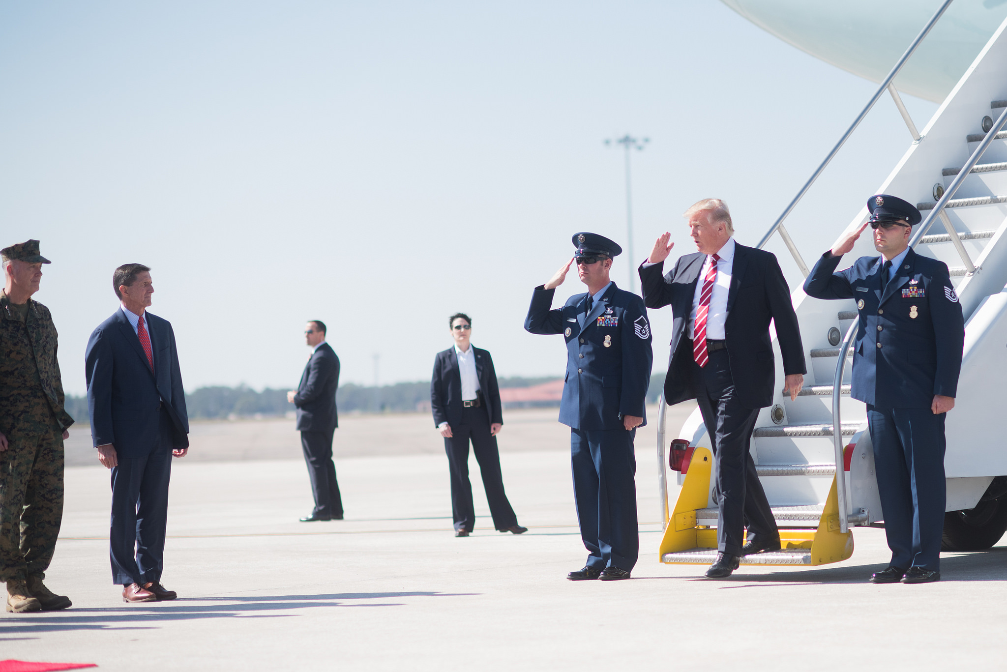 Trump's Passion for Military Men Will Take Us Back to King George