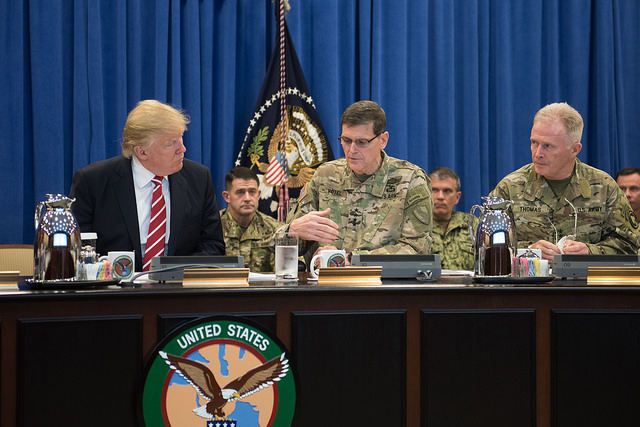 Trump: Toward War in the Middle East