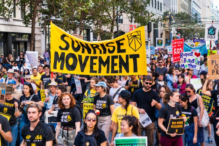 sunrise-movement-youth-climate-strike-march